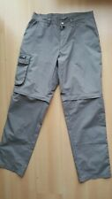 Jack Wolfskin Mens Hiking Pants Zip off Trousers Size W33