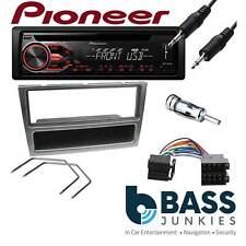 Vauxhall Vectra C PIONEER DEH-1800UB CD MP3 USB Car Stereo & GREY Fitting Kit