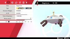 Pokemon Magnézone  shiny 6IV + masterball - Battle Ready - Epée/Bouclier