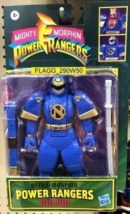 NINJOR Retro Mighty Morphin POWER RANGERS Action Figure ATTACK NINJA Mode READ!!