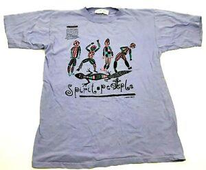 VINTAGE Cherokee Spirit People Shirt Size Medium M Purple Dreamtime Tee USA MADE