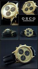 Rarität Eleganter Klassiker Herren Uhr Chronograph ETA Quarz Swiss Made 251.272