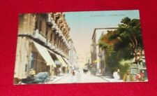POSTCARD EGYPT ALEXANDRIA POST OFFICE ARMY POST OFFICE POSTMARK