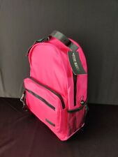 Steve Madden Play Pink Water Resistant Backpack With ID Case A2