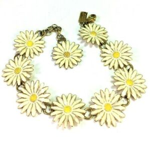 Kate Spade Daisy Chain Bracelet NWT Lovely Links of Bright Daisies! DH