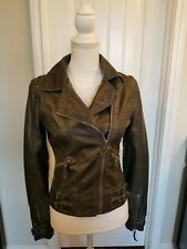 Miss sixty M60 stud faux leather jacket size S. It is very edgy and chic jacket.