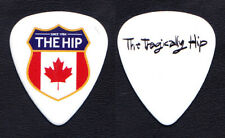 The Tragically Hip Promotional White Guitar Pick