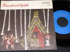 HÄNSEL UND GRETEL Brüder Grimm / DDR SP 1973 LITERA 560086