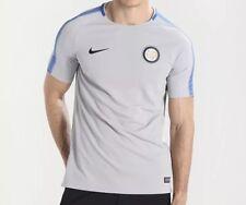 BNWT Men's Nike Inter Milan FC Official Training Shirt XL Grey Dri-Fit