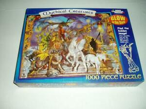 White Mountain Jigsaw Puzzle Mystical Creatures