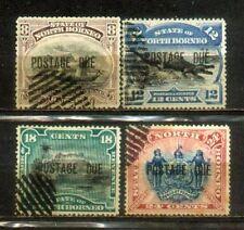 Malaya Labuan North Borneo1894 OVP Postage Due Horizontally complete set.CV1000