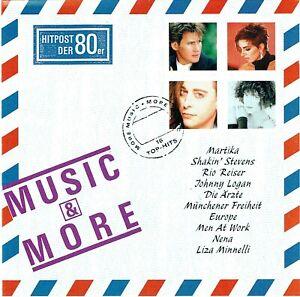 (CD) Hitpost Der 80er More Music Mit Music & More - Shakin' Stevens, Rio Reiser