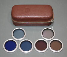 (6) Rollei Bay Ii Lens Filter Set, Color Conversion for Rolleiflex 3.5, Germany