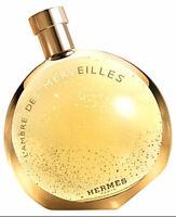 HERMES L'AMBRE DES MERVEILLES WOMEN EDP 3.3 oz / 100ml SPRAY NEW & UNBOX