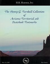 Arizona Territorial and Statehood Postmarks - Turnbull Collection