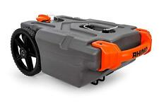 RV Portable 15 Gallon Waste Tote Tank For Gray Black Sewer Water With Wheels Hos