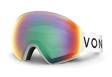 NEW Von Zipper Jetpack Goggles-WSW White Satin-Wildlife Lens-SAME DAY SHIPPING!