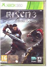 XBOX 360 Risen 3 Titan Lords First Edition (2014) - Nuovo !!!! xbox360