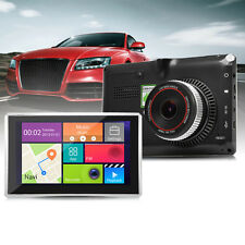 "5"" 1080P Car Tablet GPS Navigation WiFi Android 4.4 In-dash DVR Recorder FM MAP"