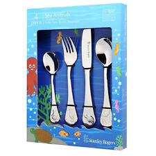 Stanley Rogers Children's Sea Animals 4 Piece Cutlery Set For Kids