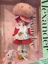 "Madame Alexander Doll 47360 Strawberry Shortcake 8"" NRFB RARE"