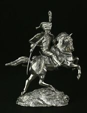 Officer of the Imperial Horse Guards Charging KIT Tin toy soldier 54 mm. metal