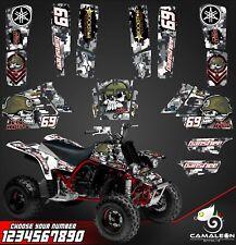 Yamaha Banshee 350 full graphics kit stickers decals atv