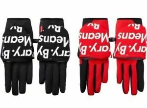 F/W 2015 Supreme x The North Face Winter Runners Glove Large Black By Any Means