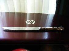 "HTF Monogrammed W Gorham Chantilly 1895 - 1950 Sterling Silver 8 1/2"" Knife NR"