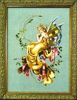 """SALE! COMPLETE XSTITCH KIT """"THE WOODLAND FAIRIE MD67"""" by Mirabilia"""
