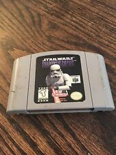 Star Wars: Shadows of the Empire Nintendo 64 N64 Game Cart Works Well !NE5!