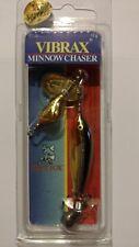 BLUE FOX VIBRAX MINNOW CHASER 3/8oz Item# MC-3 SG (Gold Shiner)NIP NOS Spinner