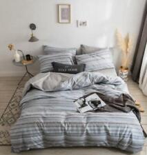 3D Gray Line ZHUB3027 Bed Pillowcases Quilt Duvet Cover Queen King Zoe