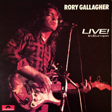 RORY GALLAGHER - LIVE! IN EUROPE (LP) (VG-/VG+)