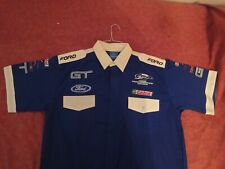 NEW RARE FORD GT Race Team Shirt OEM FORD Mfg. MINT Size LARGE Embroidered