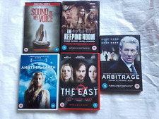 5 x bundle of DVDS. Featuring  Brit Marling ( aka The OA )