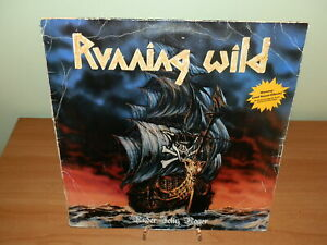 RUNNING WILD UNDER JOLLY ROGER 1987 LP VINILE USATO SICURO