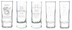 Personalised Shot Glass Choose Design