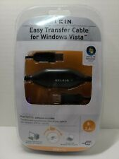 Belkin  F5U258 Easy Transfer Cable for Windows Vista New and Sealed