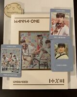 WANNA ONE SPECIAL ALBUM 1÷χ=1 UNDIVIDED triple position ver. With Photocards