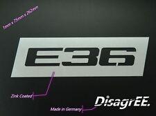 "Air Intake Plate ""E36"" - fender hood - good weldability - sheet metal - BMW E36"