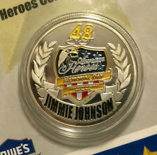 2007 Jimmie Johnson Lowes Power of Pride American Heroes Coin HMS Hendrick