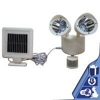 Solar Powered Spotlight Motion Sensor Garden Security Floodlight Lamp 22 LED