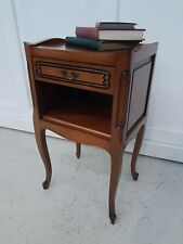 French Cherry Wood Bedside table / Cabinet or Side Table Louis Style