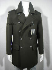 NWT RALPH LAUREN Military Wool Commander Jacket Officer Coat Green sz 44R(L/XL)