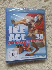 Ice Age - Eine Coole Bescherung 3D + 2D Version NEU Blu Ray Exklusive Edition