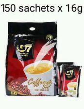 150 sachets x 16g Vietnamese Trung Nguyen G7 Instant Coffee 3 in 1 Coffeemix
