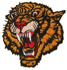 Ecusson patche Tigre petit patch transfert brodé thermocollant