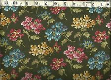 Quilting Treasures ~ Fairfield Floral Green ~ 100% Cotton Quilting  Fabric BTY