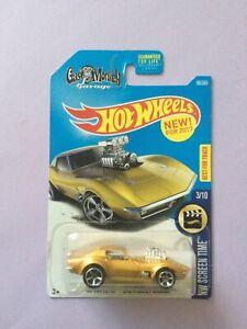 1:64 Hot Wheels '68 Corvette Gas Monkey Garage HW Screen Time #99